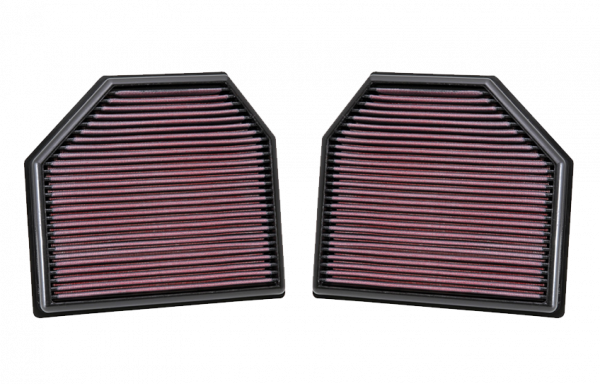 K&N replacement air filter BMW S55 M3/M4 2014-2016, N63S M5/M6 2011-2017