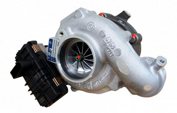 Upgrade turbocharger MSL48-55, BMW N57 M50d, 480-550hp (low trap)